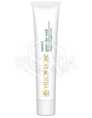 Маска для обличчя з натуральної зеленої глиною : Yellow Rose