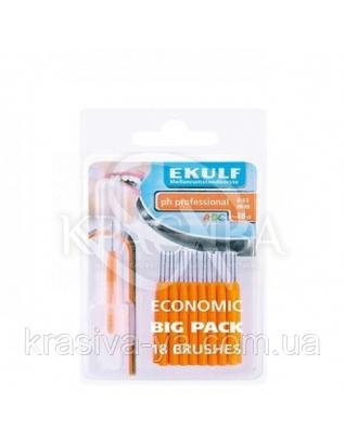 Щетки для межзубных промежутков Ekulf Ph Professional 0.45 мм, 2 уп * 18 шт