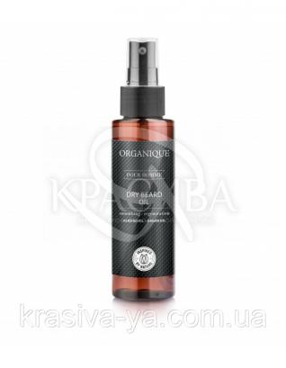 Сухое восстанавливающее масло для бороды, лица и тела для мужчин, 100 мл :