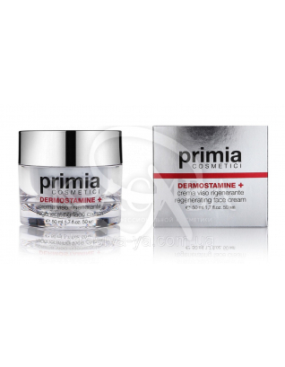Dermostamine+ Regenerating Face Cream-Dry Skin - Відновлюючий крем для обличчя, 50 мл