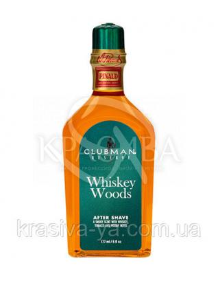 Лосьйон після гоління Clubman Reserve - Whisky Woods After Shave Lotion, 177 мл
