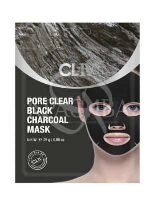 Маска с черным углем для очищения пор от загрязнения : CLIV