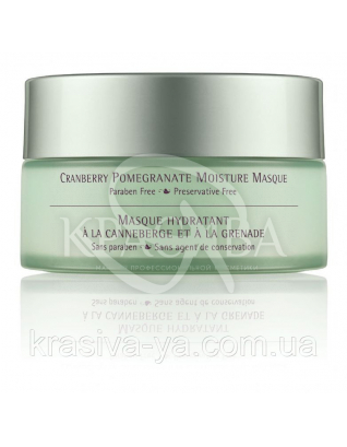 Cranberry Pomegranate Moisture Masque - Зволожуюча маска для обличчя з екстрактом журавлини і граната, 107.8 мл : June Jacobs Laboratories