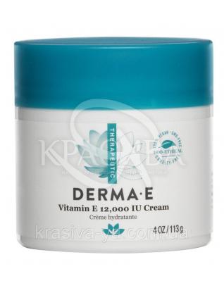 Крем зволожуючий з вітаміном Е 12.000 МО - Vitamin E 12.000 IU Creme, 113 г : Derma E