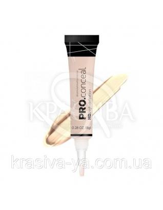 L.A.Girl GC 969 Pro Conceal HD Concealer Porcelain - Консилер под глаза (фарфор), 8 г : Консилер для лица