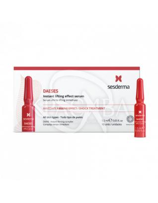 Daeses Immediate Lifting Effect Serum - Зміцнююча сироватка миттєвої дії, 10 амп х 1,5 мл :