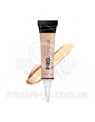 L.A.Girl GC 971 Pro Conceal HD Concealer Classic Ivory - Консилер под глаза (слоновая кость), 8 г : Макияж для лица