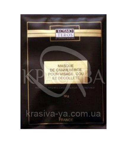 Kosmoteros Ревитализирующая маска з журавлиною для обличчя, шиї і декольте, 3 * 50 г - 1