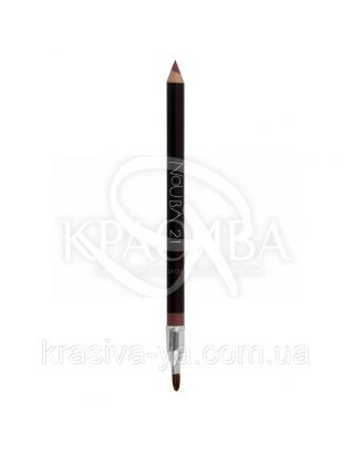 """Косметичний олівець для губ з пензликом """"Lip Pencil"""" 21, 1.18 р : Nouba"""