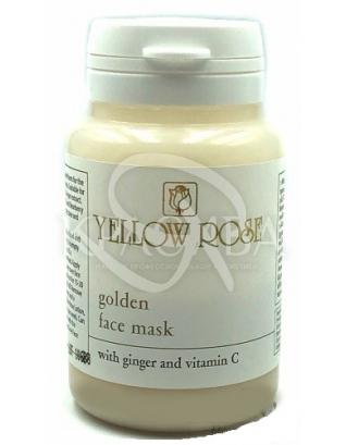 Альгінатна маска з золотом і екстрактами імбиру : Yellow Rose