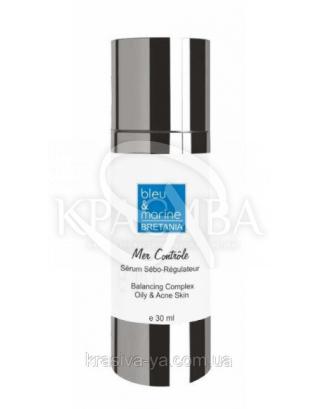Балансуюча сироватка для жирної шкіри з Акне, 80мл :