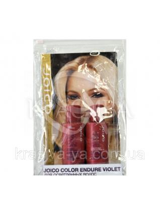 Набор подарочный (шампунь + кондиционер фиолетовый для осветленных/седых волос), 50 мл + 50 мл