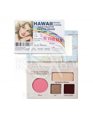 The Balm Mini Palettes AutiBalm Hawaii - Палетка для макияжа, 4.15 г : Палетки