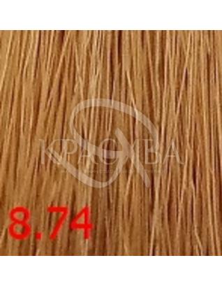 Cutrin Aurora Demi Color - Безаміачна фарба для волосся 8.74 Карамель, 60 мл :