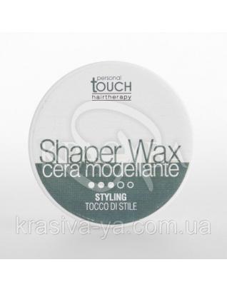 Personal Touch Воск моделирующий сильной фиксации (SHAPER WAX), 100 мл : Воск для волос