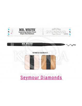 The Balm Mr. Write Seymour - Стойкий карандаш для глаз Diamonds, 0.35 г : TheBalm