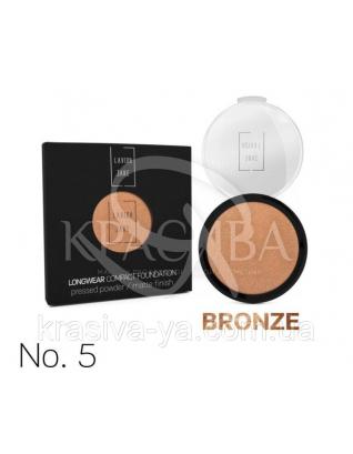 Longwear Compact Foundation Pressed Powder Компактная пудра для лица Bronze 5, 12 г : Макияж для лица
