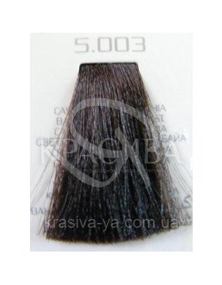 HC Hair Light Крем-краска 5.003 светло-каштановый натуральный баийя, 100 мл : Аммиачная краска