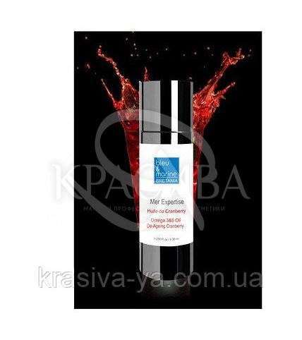 Органическое anti-age масло с клюквой и Omega 3+6, 30мл - 1
