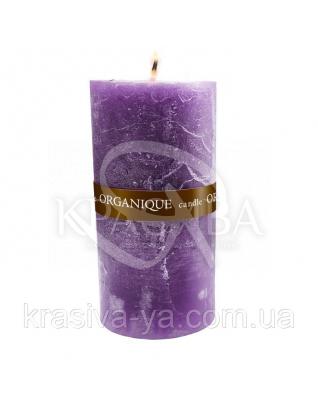 Свічка ароматерапевтична велика 150*70 - Орієнт (Фіолетовий), 570 г : Декор для дому