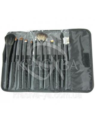 Набір пензликів для особи Professional Brush Kit, 12 шт : Набори кистей
