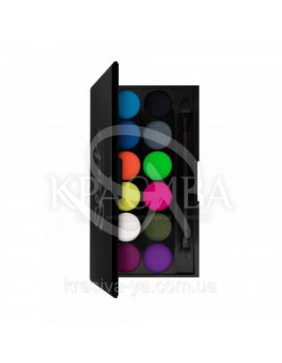 Sleek I-Divine Palette Acid - Палетка теней для век, 12*1.1 г : Sleek make up