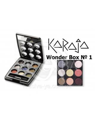 Karaja Палітра тіней для повік Wonder Box 1, 3 г