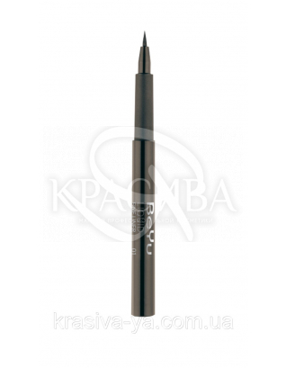 Подводка - фломастер для глаз 01 Black, 1.1 мл : Подводка для глаз