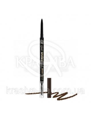 L.A.Girl GB358 Shady Slim Brow Pencil Espresso-Карандаш для бровей (для темно-коричневых тонов с шоколадным) : Карандаш для бровей