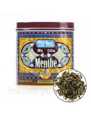 TdO Органический зеленый чай Туарег с мятой / Organic Mint Green Tea Tuareg, 100 г : Органический чай