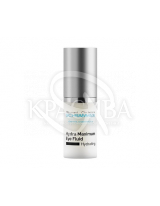 "Hydra Maximum Eye Fluid Флюїд для контуру очей ""Максимальне зволоження"" з гіалуронової кислотою, 15 мл : Флюїд для очей"