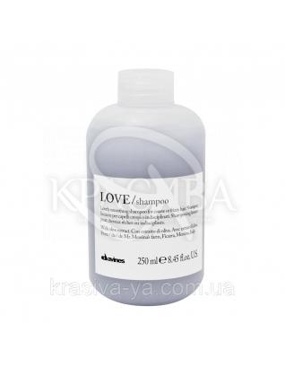 Шампунь для розгладження завитків Love Smooth, 250мл : Davines