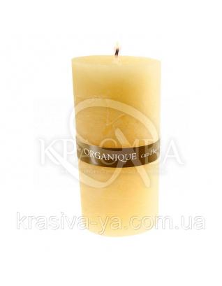 Свічка ароматерапевтична средняя75*75 - Піна колада (Жовтий), 235 г : Декор для дому
