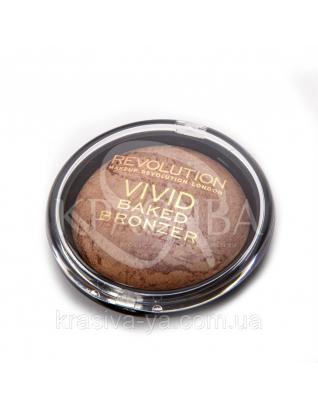 MUR Vivid Baked Bronzer - Бронзер для лица запеченный (Ready to Go), 13 г : Makeup Revolution
