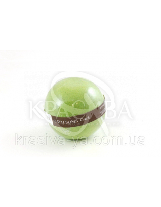 Шипучий шарик для ванны - Греция, 170 г : Organique
