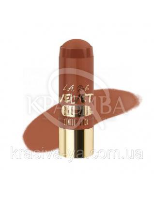 L. A. Girl GCS 596 Velvet Contour Sticks Bronzer-Suede - Оксамитовий контур в стіку, 5.8 м : Хайлайтери