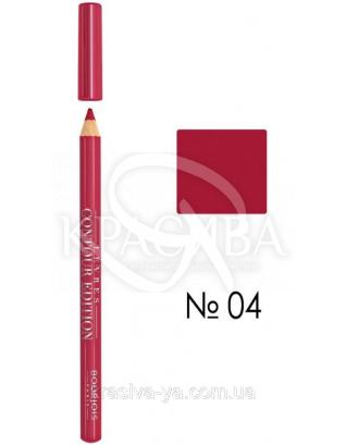 BJ Contour Levres Edition - Карандаш для губ (04-ярко розовый), 1,14 г : Bourjois