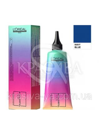 Колорфул Хаир краска прямого действия для волос (синий), 90 мл : Оттеночная краска