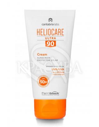 Сонцезахисний ультра-крем для нормальної та сухої шкіри SPF90 : Cantabria Labs