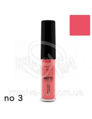 Matte Liquid Lipcolor - Xtra Long Lasting Матова рідка помада 3, 6 мл : Lavish Care