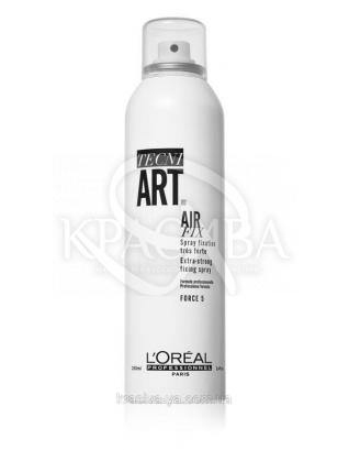 L'oreal Professionnel Tecni Art Fix Air Fix - Лак для волос степень фиксации 5, 250 мл : L'oreal Professionnel