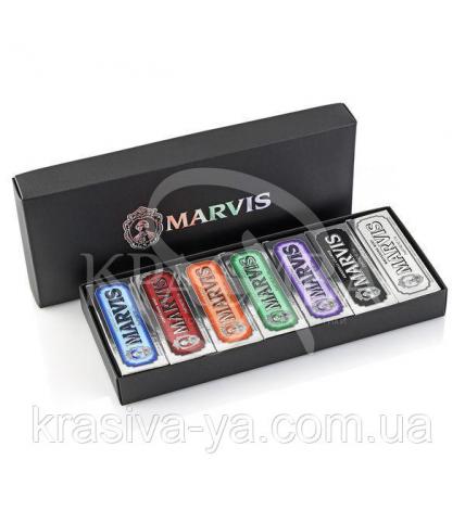 Коробка з 7 видами різних паст Marvis 7 Flavours Box, 7*25 мл - 1