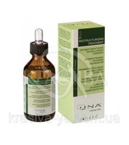 Уна Комплекс для восстановления ослабленного и поврежденного волоса, 90 мл - 1