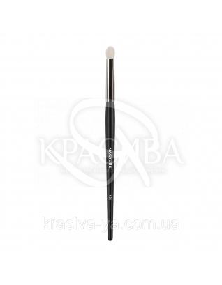 156 Blending and eyeshadow brush, white goat - Кисть для растушевки, ворс козы : Nastelle