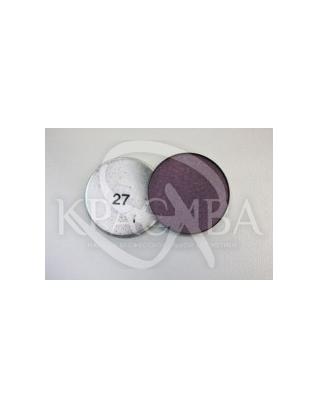 Тіні компактні набірні, №27 Темно-фіолетовий бордо : Cinecitta