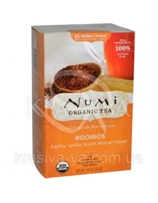 """NUMI Травяной тизан """" Ройбуш """" / Rooibos, 18 пакетиков : Травяной чай"""