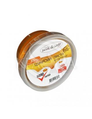 Silk&Soft Паста для депиляции в домашних условиях Мануальная твердая Hard, 200 г + 50 г : Косметика для тела и ванны