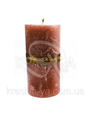 Свічка ароматерапевтична велика 150*70 - Кориця (Коричневий), 570 г : Декор для дому