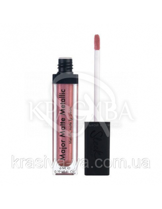 Sleek Matte Me Lip Gloss Rusted Rose - Жидкая матовая помада, 6 мл : Sleek make up