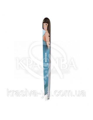 Beter Chic Пинцет для удаления волос с косыми кончиками, нержавеющая сталь, 9.7 см : Аксессуары